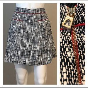 SAIL TO SABLE Tweed Tradition Skirt